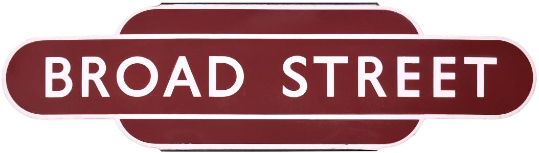 Broad Street totem