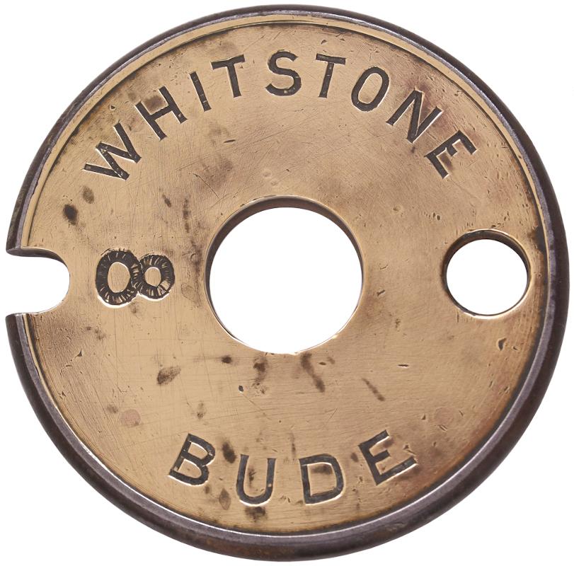 Tyers single line tablet, Whitstone - Bude